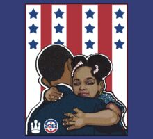DEMOCRATIC CAMPAIGN 2012: OBAMA'S EMBRACE by SOL  SKETCHES™
