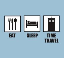 Eat, Sleep, Time Travel by ScottW93