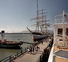 San Francisco Maritime Museum by Rodney Johnson