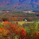 CADES COVE,AUTUMN by Chuck Wickham
