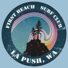 First Beach Surf Club by Megan Noble