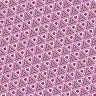 Pink funky pattern iPhone case by Vicki Field