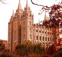 SLC-LDS Temple Autumn NE by AJDesignWorks