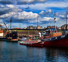 Boats In The Basin by Dave Godden