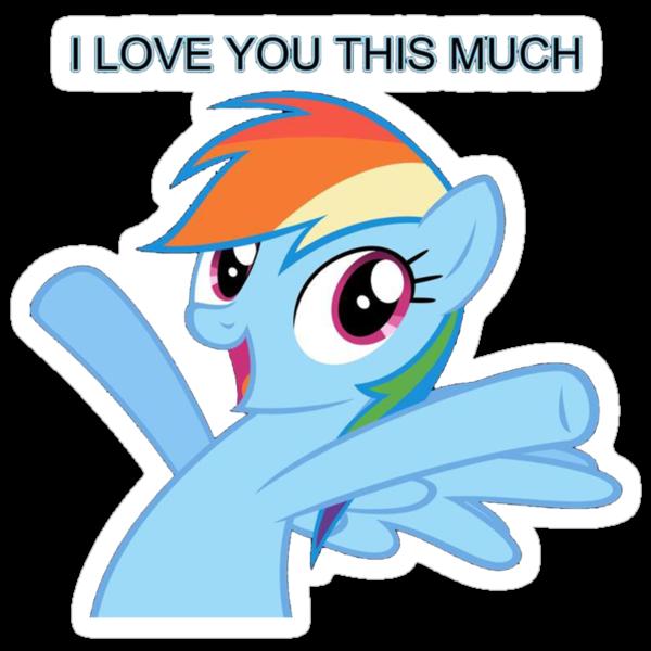 Dashie loves you by LikeToBeATree