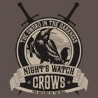 Night&#x27;s Watch Crest with Swords by liquidsouldes