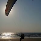 Learning to Paraglide Arambol by SerenaB