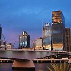 A sunset in Brisbane by Lucia Baldini