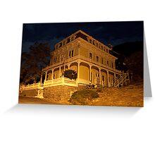 """""""Savage Mansion"""" Greeting Card"""