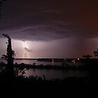 Thunderstruck at Sinnissippi Lake by Richard Williams
