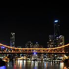 story bridge, brisbane, queensland, australia by gary roberts
