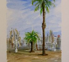 Barcelona #1 by Linda Ridpath