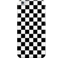 Mod Checkered Two Tone by 'Chillee Wilson'  iPhone Case/Skin