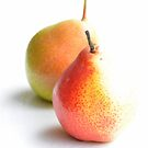 lovely pears 1 by Kyoko Beaumont