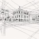 Cnr Swan & Church Sts Richmond, Victoria by Steve Leadbeater