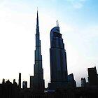 The Burj and Address Hotel by Adam Adami