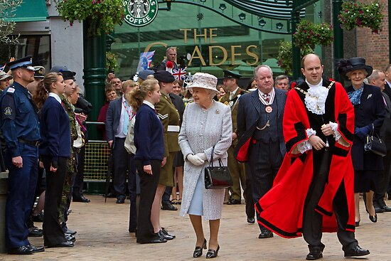 The Queen's Diamond Jubilee visit to Bromley, Kent by Keith Larby