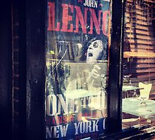 Old John Lennon Poster From When He Performed by SylviaS