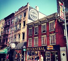 Bleecker Street - Greenwich Village by SylviaS