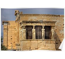 Porch of the Caryatids Poster