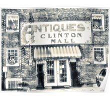 Antiques... Clinton Mall   #4 Poster