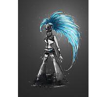 Rainbow Punk: Cybernetic Blue Photographic Print