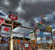 Route 66 Signs Galore by Bob Christopher
