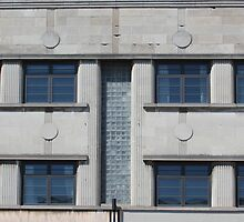 Art Deco Facade 2 by marybedy