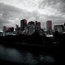 Melbourne Skyline by Andrew Wilson