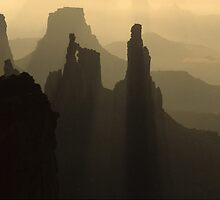 Fog In Canyonlands by Bob Christopher
