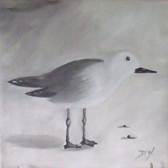 Seagul No 3 by Debbie Hetzel/Piro