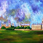 Christ's meadows Oxford by Ivor