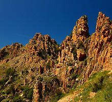 the Calanches of Piana by supergold