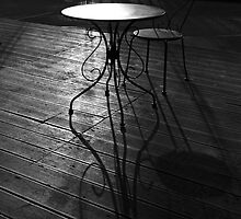 Table and Chair by Leon Heyns