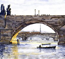 Prague Bridges by Yuriy Shevchuk