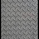 Metal Diamond Plate by CaseBase