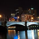 Melbourne at night 07 by DavidsArt