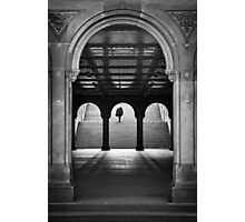 Bethesda Underpass at Central Park, New York City Photographic Print