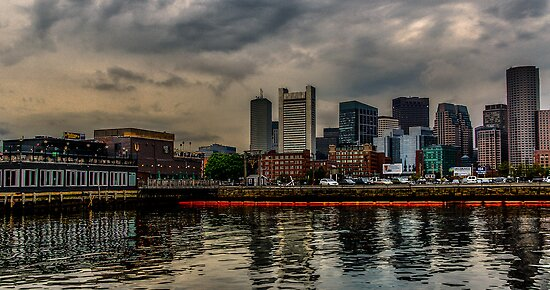 Blue sunrise in Boston, MA by LudaNayvelt