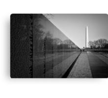 The Vietnam Veterans Memorial, Washington DC Canvas Print