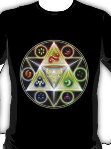 The Legend of Zelda: Ocarina of Time - Spiritual StoneTriforce! T-Shirt