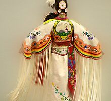 First Nations Traditional Dancer by Bob Christopher