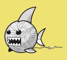 Yarn shark (grey) Kids Clothes