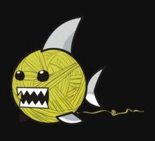Yarn shark (yellow) Kids Clothes