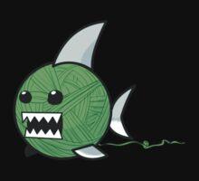 Yarn shark (green) Kids Clothes