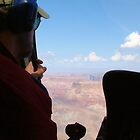 Helicopter Over the Grand Canyon by James Hogarth