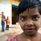 Inquisitive girl by Mark Smart