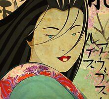 Geisha by Luiz  Penze