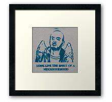 Brick Lane 17/5/12 pt 4 Framed Print