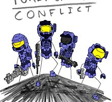 Blue team by purplegamer17